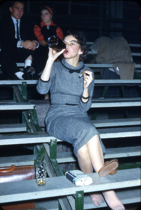 Got A Girl Crush On : taking your shoes off,forgoingthe glass, and unwinding like a champ (stogie optional)   HAPPY FRIDAY!