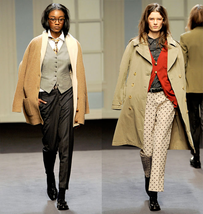 Got a girl crush on:  Paul Smith A/W 2011     For obvious reasons!   (via  Miss Moss )
