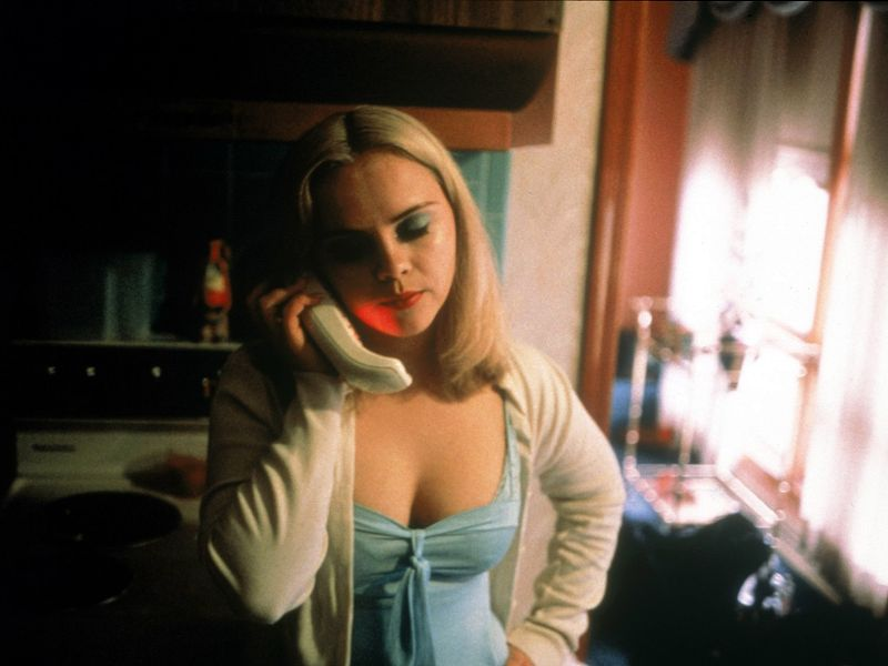 Got A Girl Crush On:  Christina Ricci in  Buffalo '66    Can't say I'm a huge Vincent Gallo fan in general, but I really do love this movie. And I  love  a less-svelteChristina channeling some serious 60s lids and bleached-out tresses.