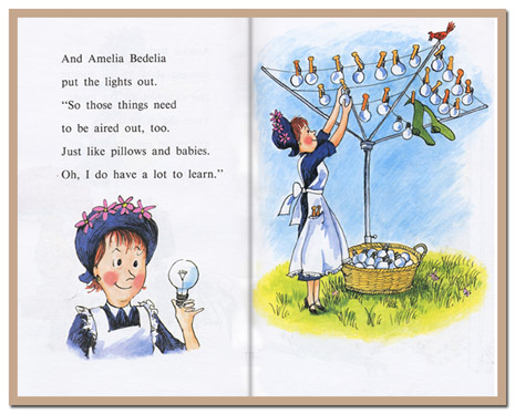 Got a girl crush on: Amelia Bedelia    Because sometimes, taking things literally is more fun.