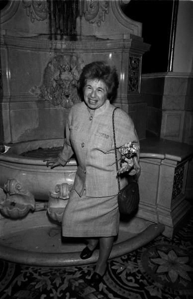 dontwhistleontheelevator :     here's wishing you a happy birthday, dr. ruth.     seriously- how cool is this lady!?!?!