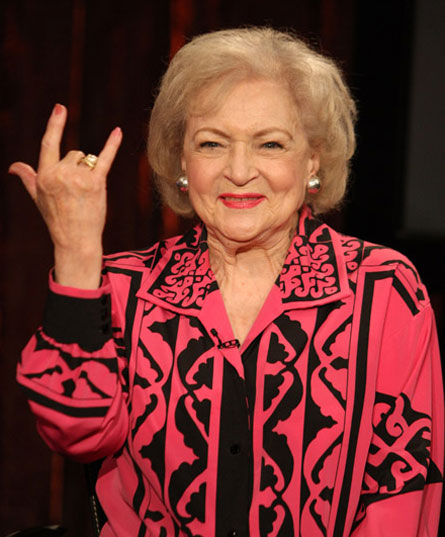 Got A Girl Crush On : Betty White   'nuf said