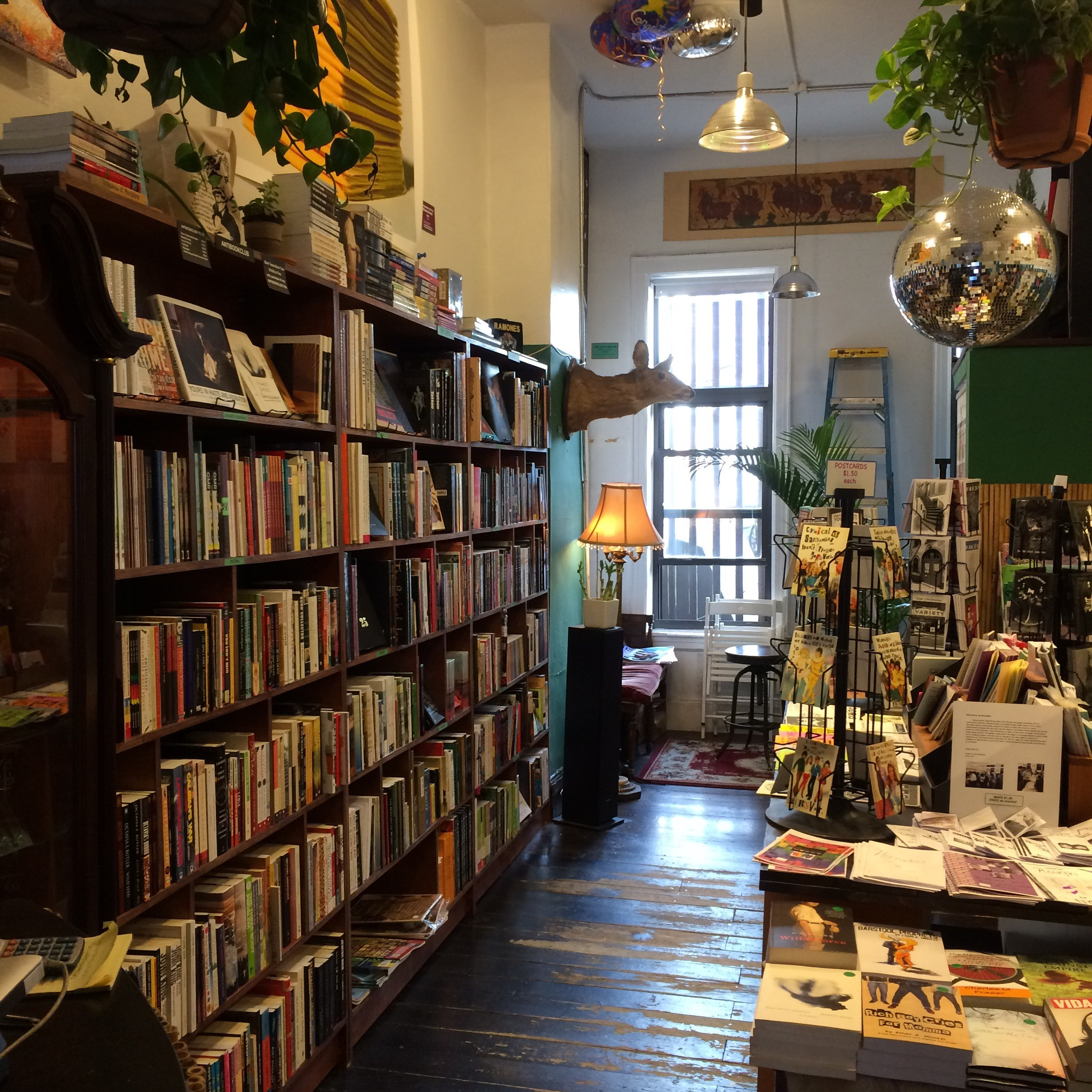 Support Small Booksellers: Quimby's Bookstore // Brooklyn
