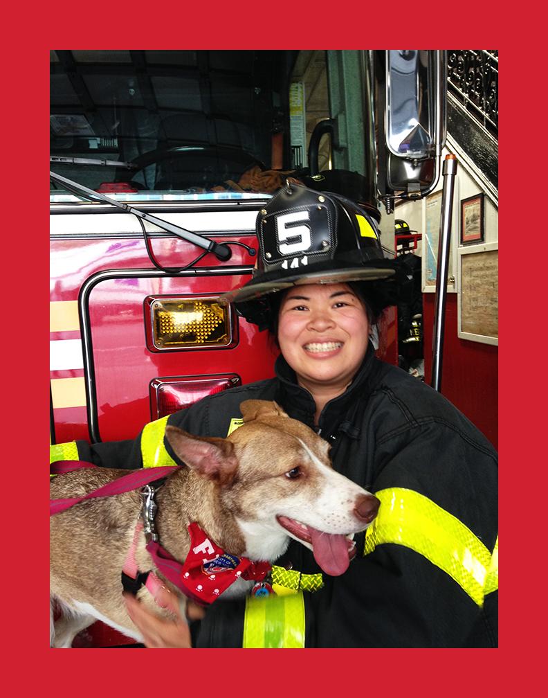 Sarinya Srisakul, President of United Women Firefighters