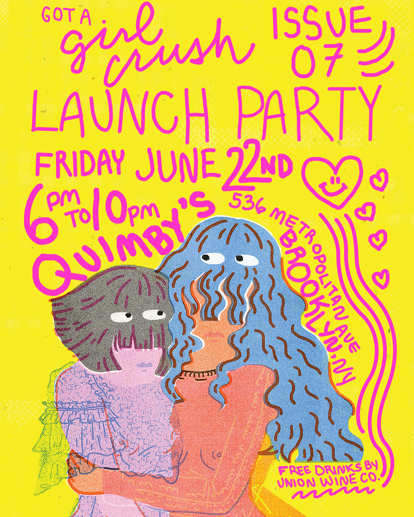 Got a Girl Crush Issue 07 Launch Party