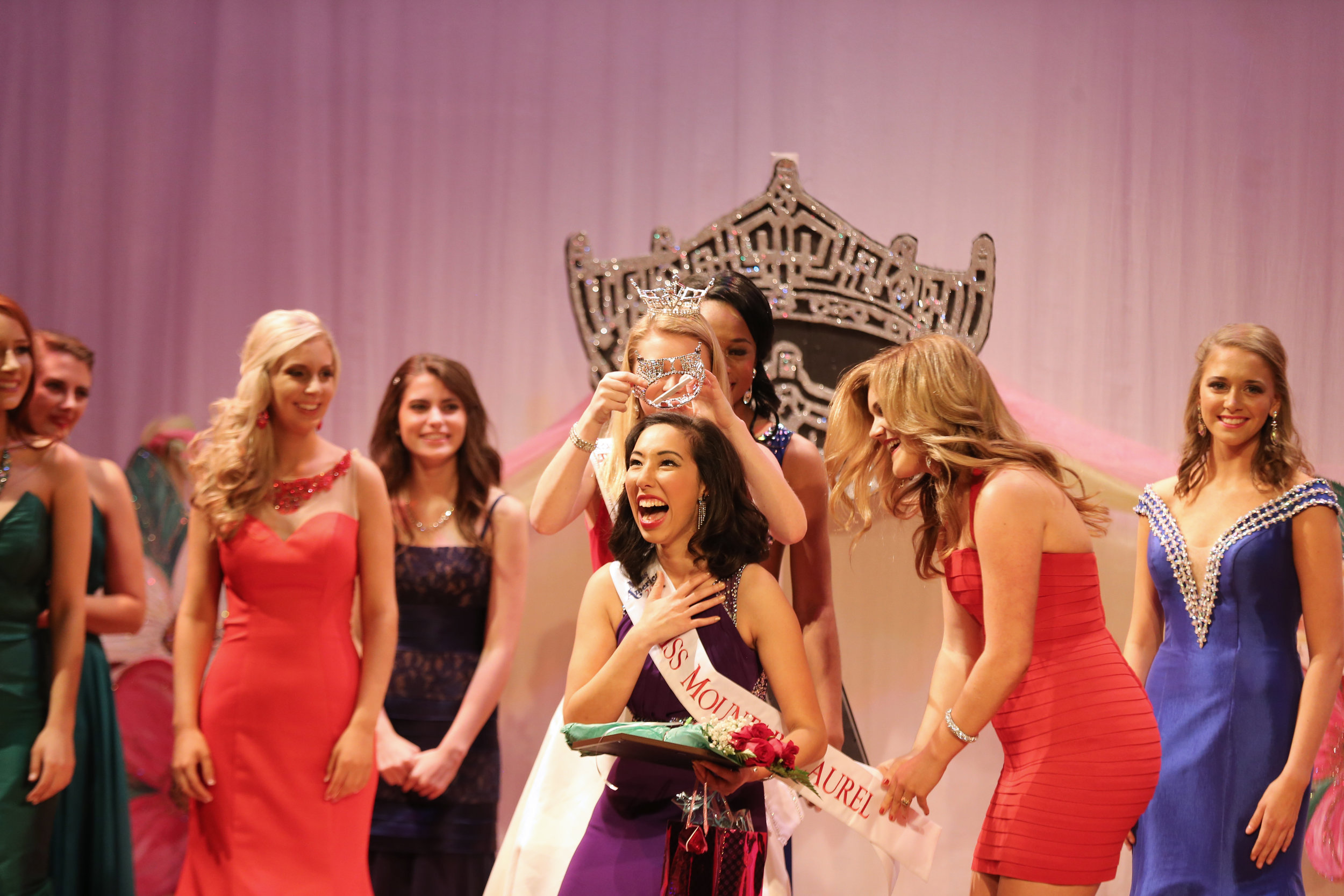 Crowning at the Miss Mountain Laurel 2017 Pageant. Photo by Kimberly Needles.