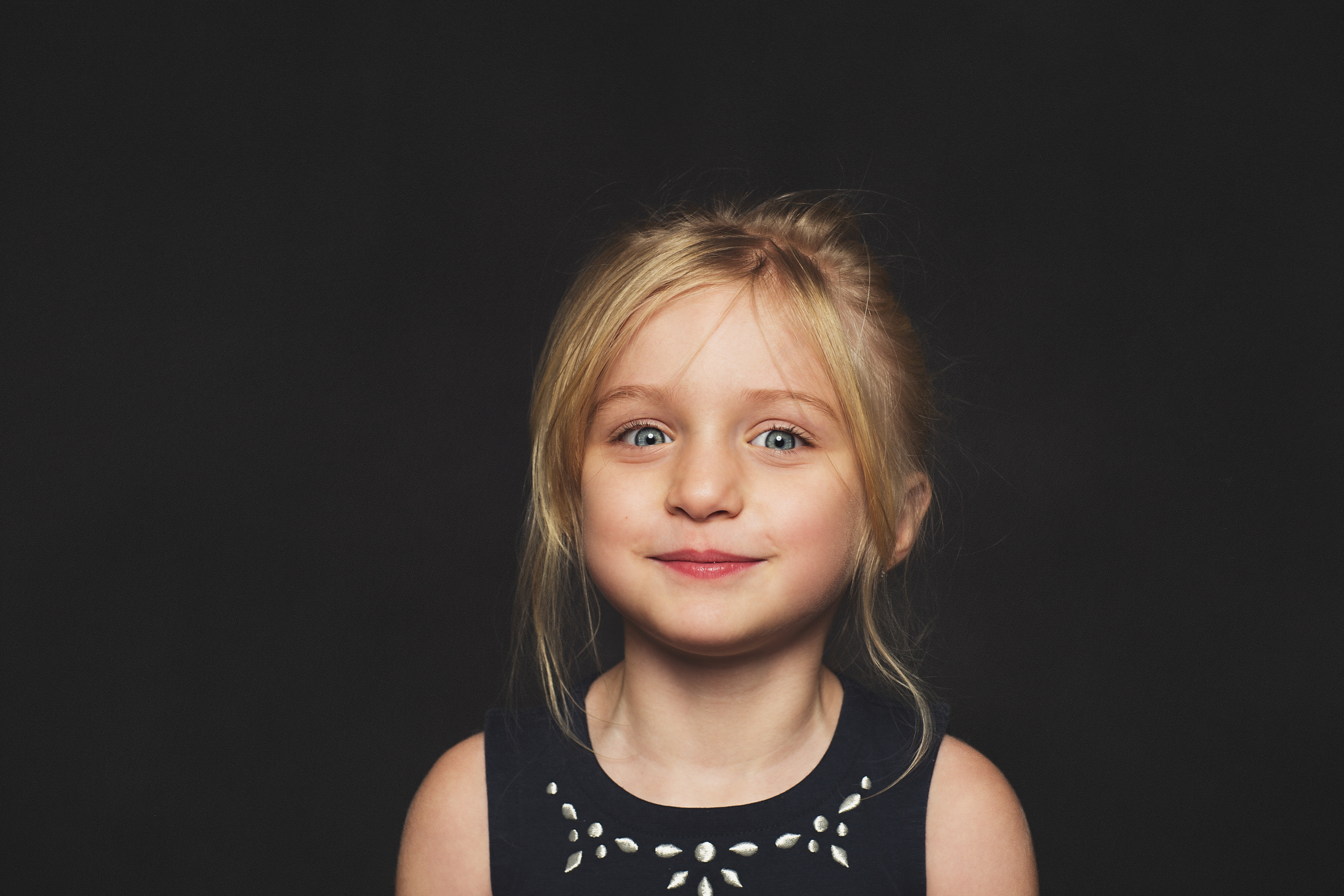 358 - This is the face of a kid that most likely ate nothing but cookies and sugar all day. She was seriously bouncing off the walls.