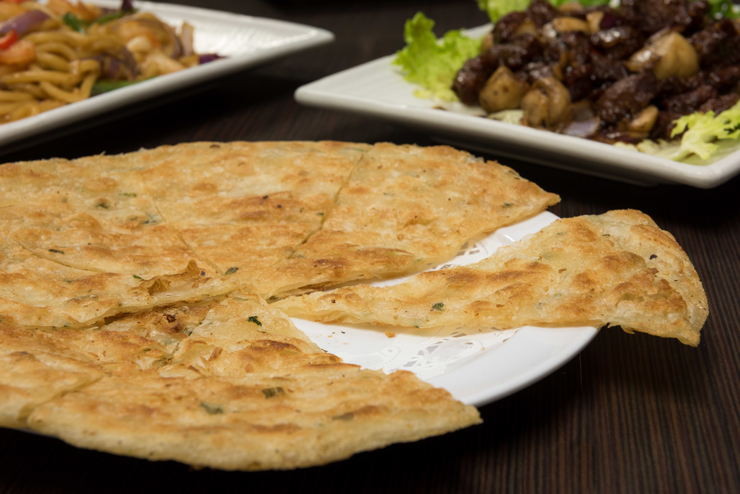 Green Onion Fried Pancake