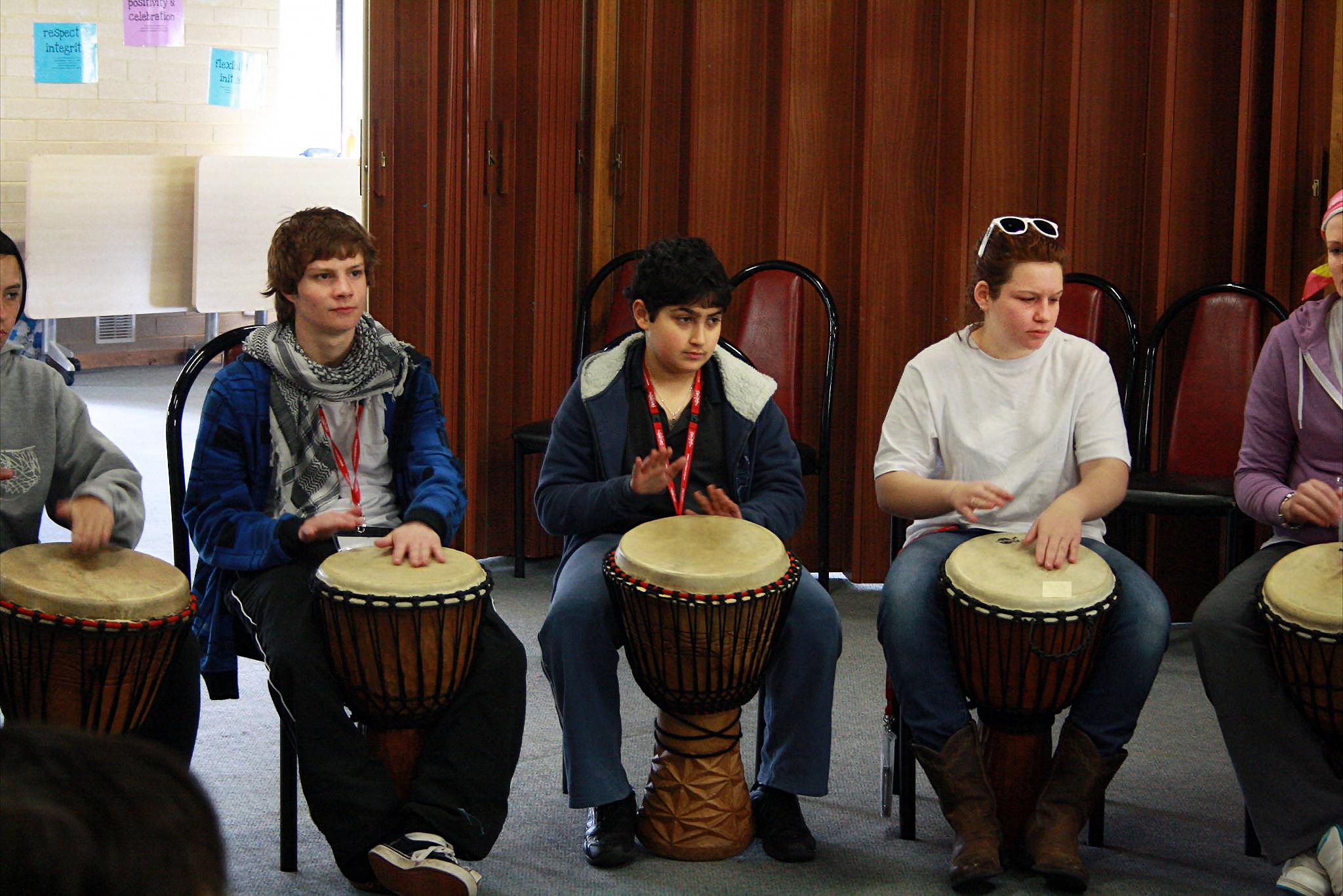 Drumming, CANTEEN, Woodhouse (2).jpg