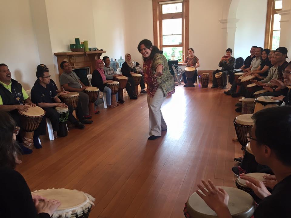 Drumming Wkshp - Indonesian Fellowship Nov2015.jpg