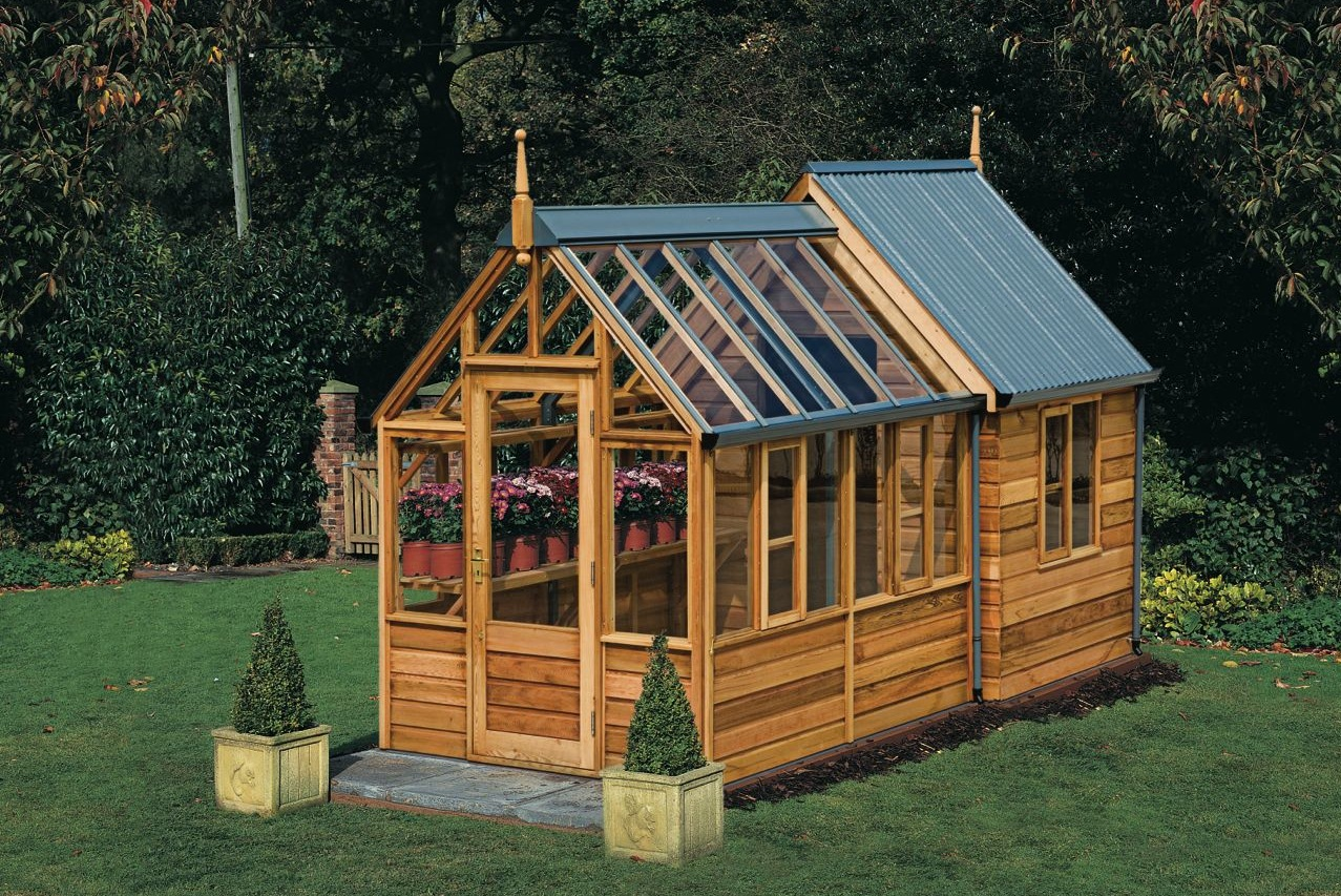 Lee Goodchild | Bath | Greenhouses & Sheds | Rosemoor Combi