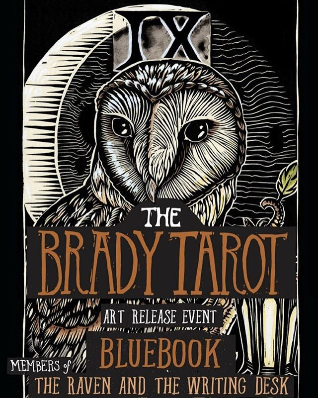 Emi Brady's release of the Brady Tarot is this Friday @physicopera!!! I will be performing a completely new set - songs you've never heard me play before... it's not really a Raven set you see... it's a Juls set. Plus Scott. 😘but mostly it's a celebration of Emi's amazing artwork! You gotta come check it out.