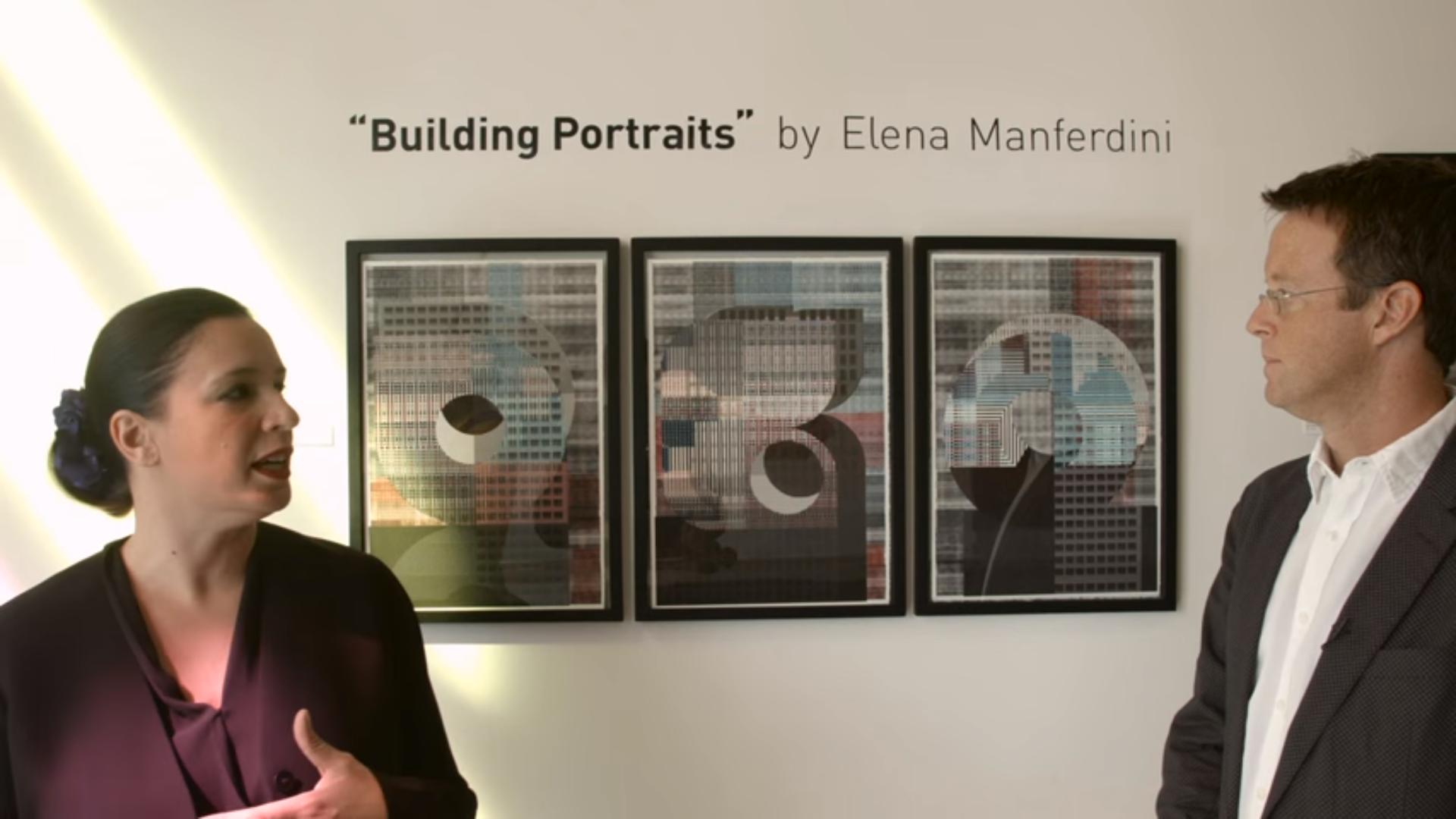 Architect & designer, Elena Manferdini, and Sci-Arc Channel correspondent, Todd Gannon.