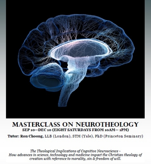No prior knowledge of science or theology required but a desire to learn about how one can believe in God in the light of modern neuroscience.