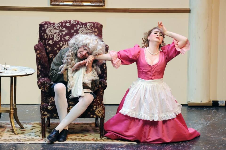 La serva pardona  / ASU Lyric Opera Theatre Photo: Tim Trumble