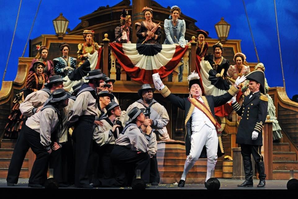 H.M.S. Pinafore  / Arizona Opera Photo: Tim Trumble