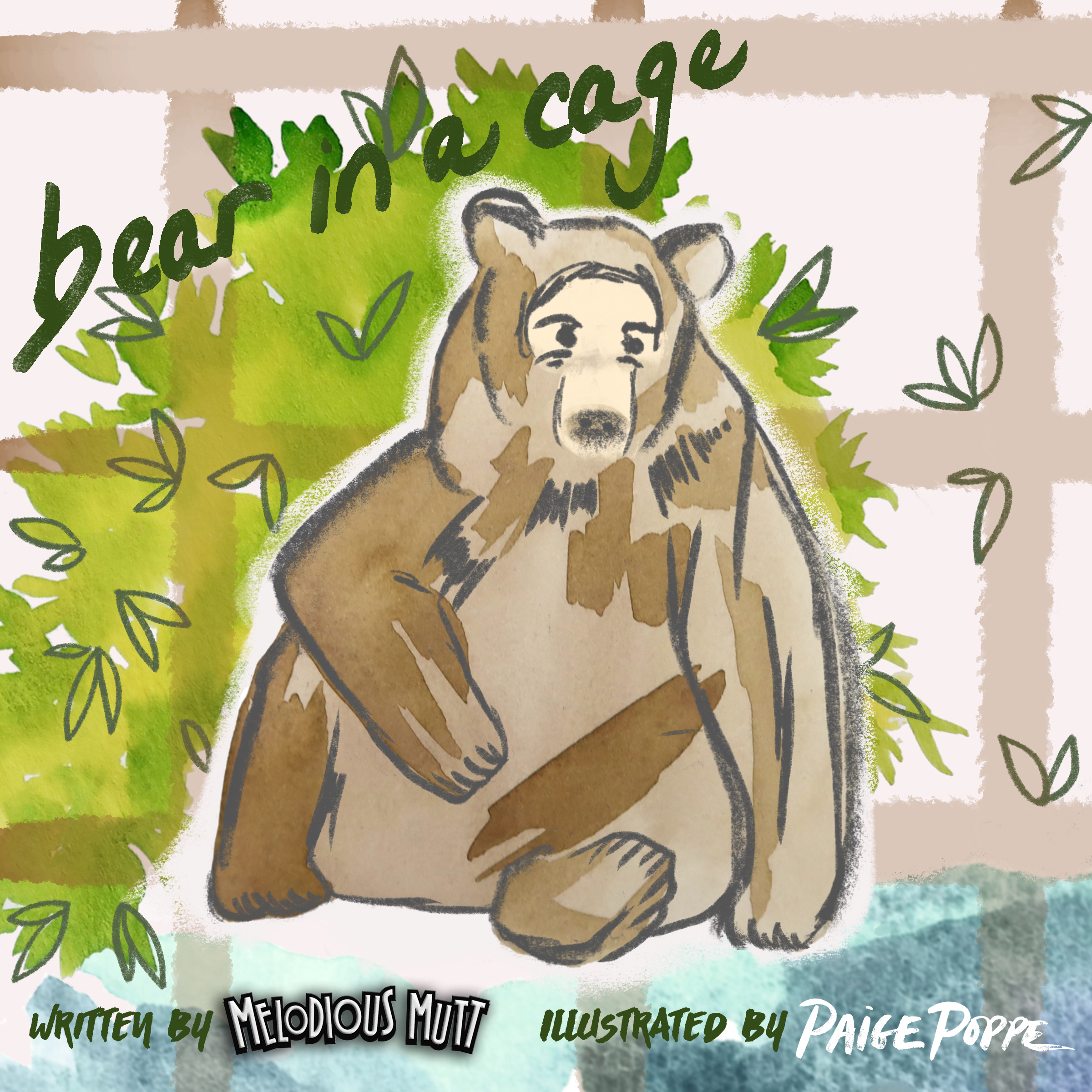 """In a small town in the middle of nowhere lived Henry the Bear.This is his story. - Based on the song """"Bear In A Cage"""" about Henry the Bear in Mitchell, Oregon"""