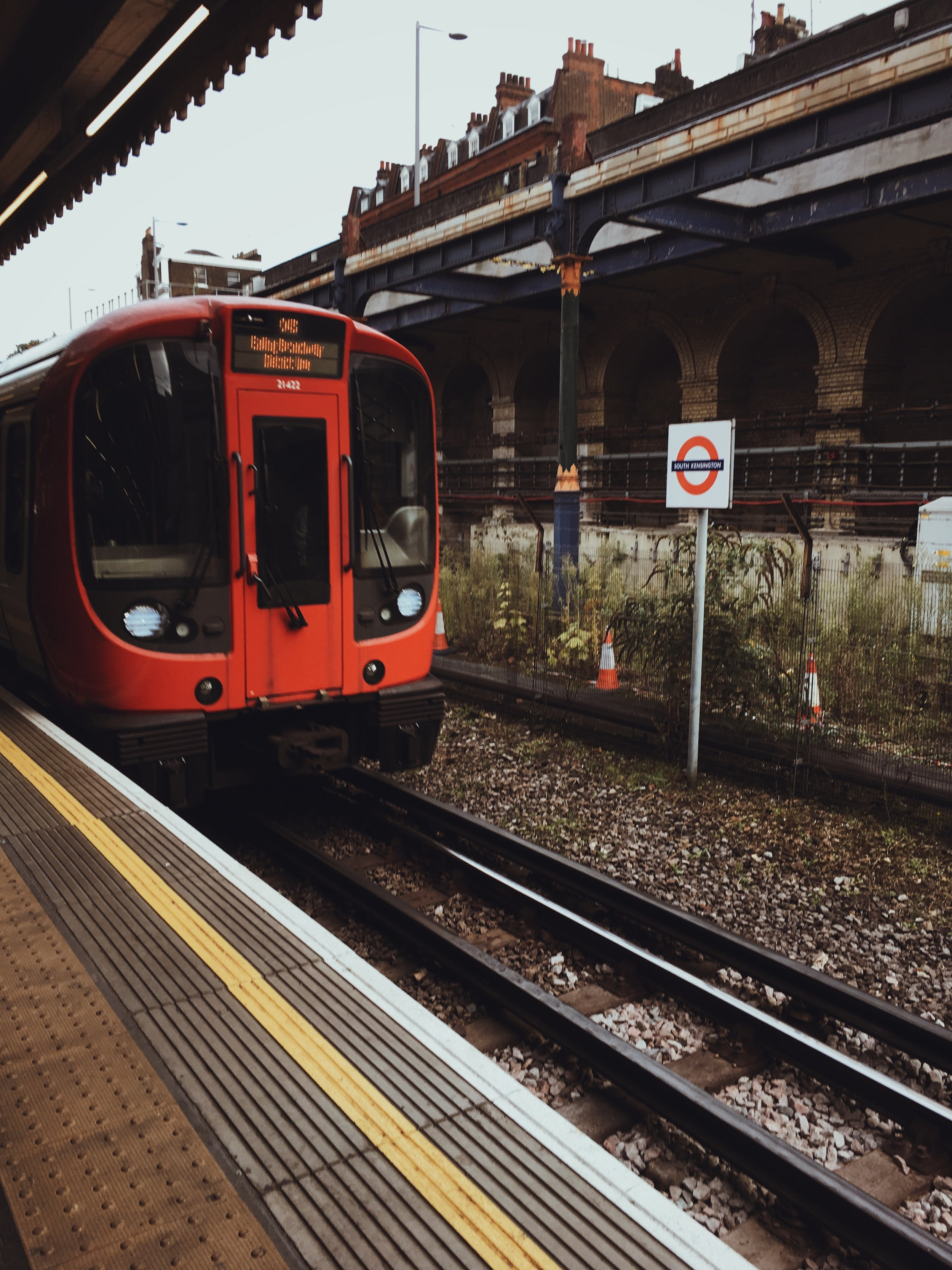 It's a great area to live in, in the west of London and not too far from everything, just a short tube ride to get to College