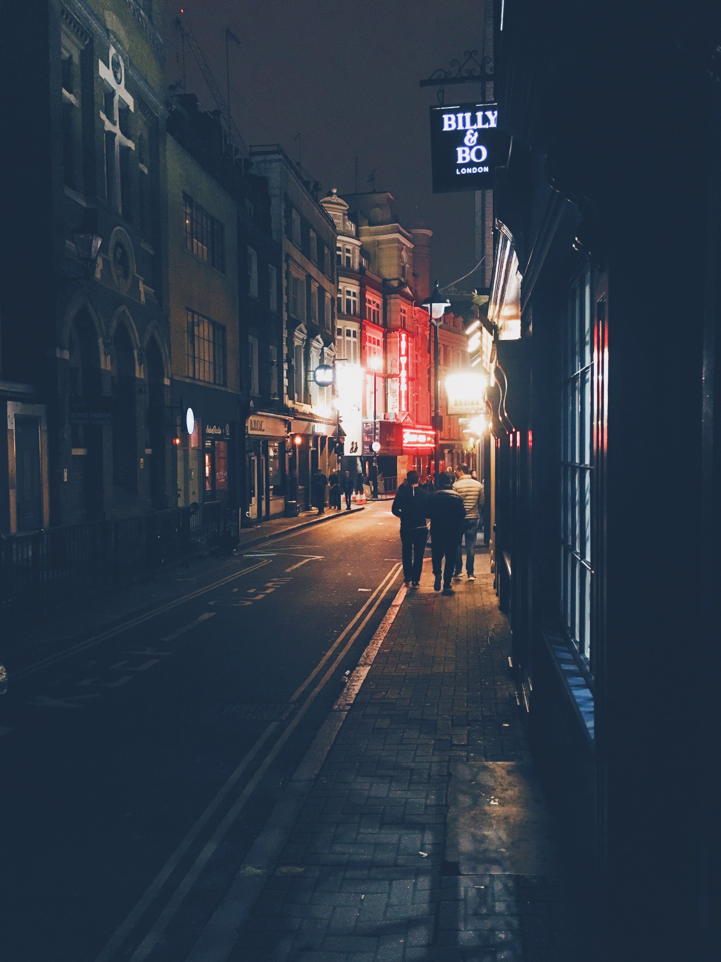 I just love exploring London by night