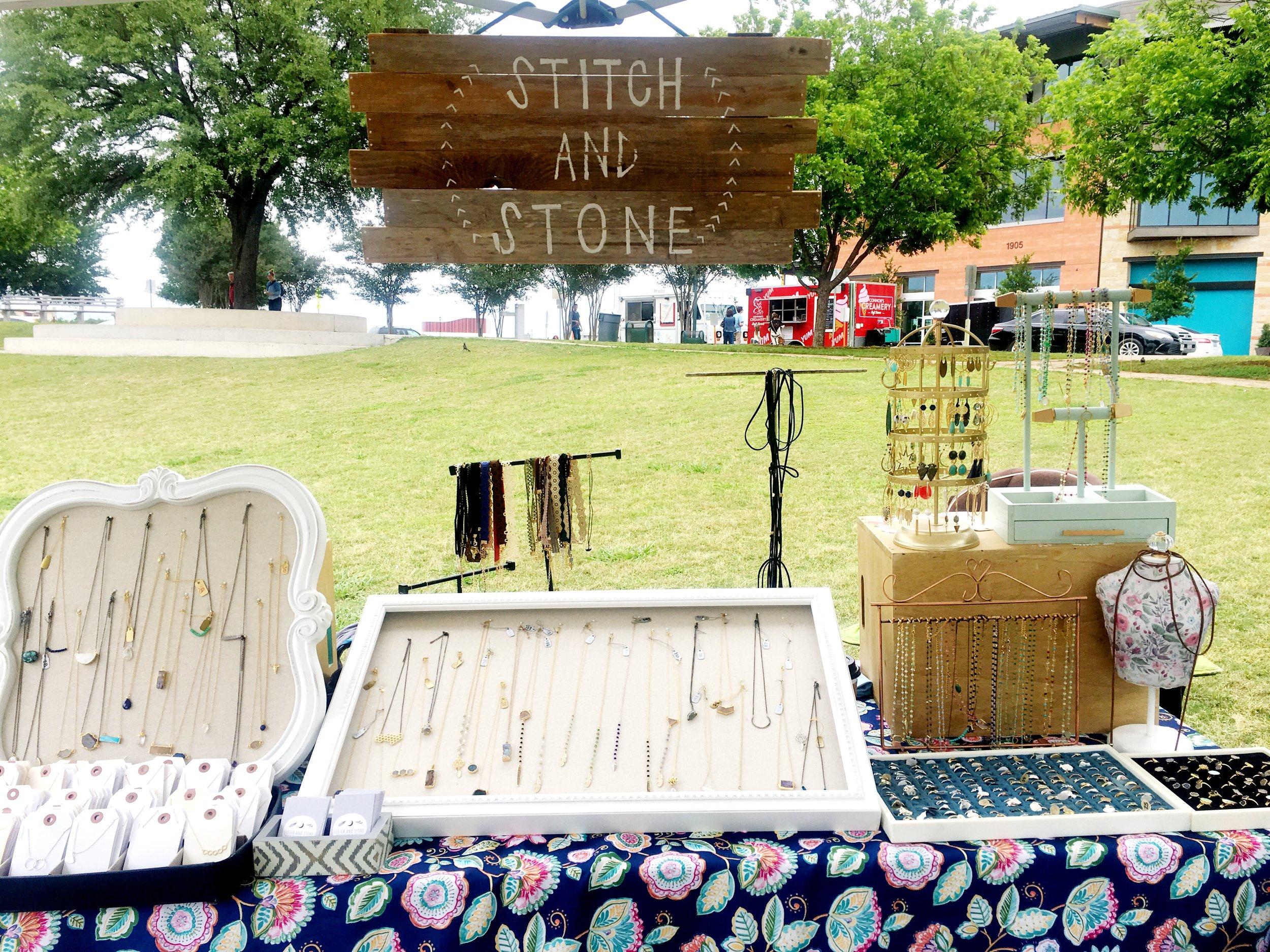 Stitch and Stone