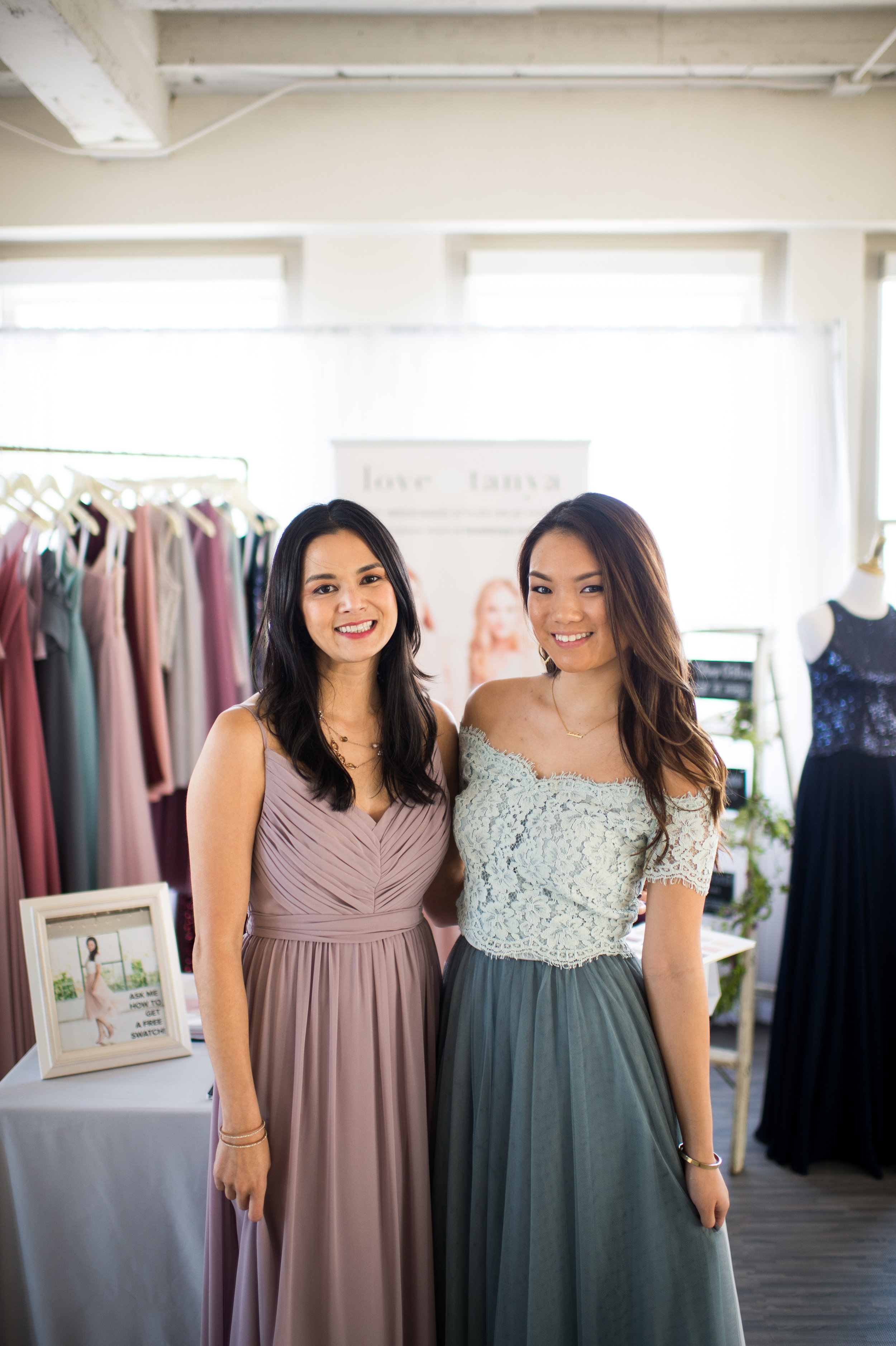 Love & Tanya came through with such an incredible selection of dresses perfect for any bridesmaid!