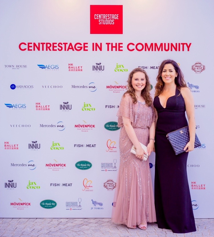 Imogen Taylor & Kaijah Bell Co-Founders and Directors of CentreStage Studios HK