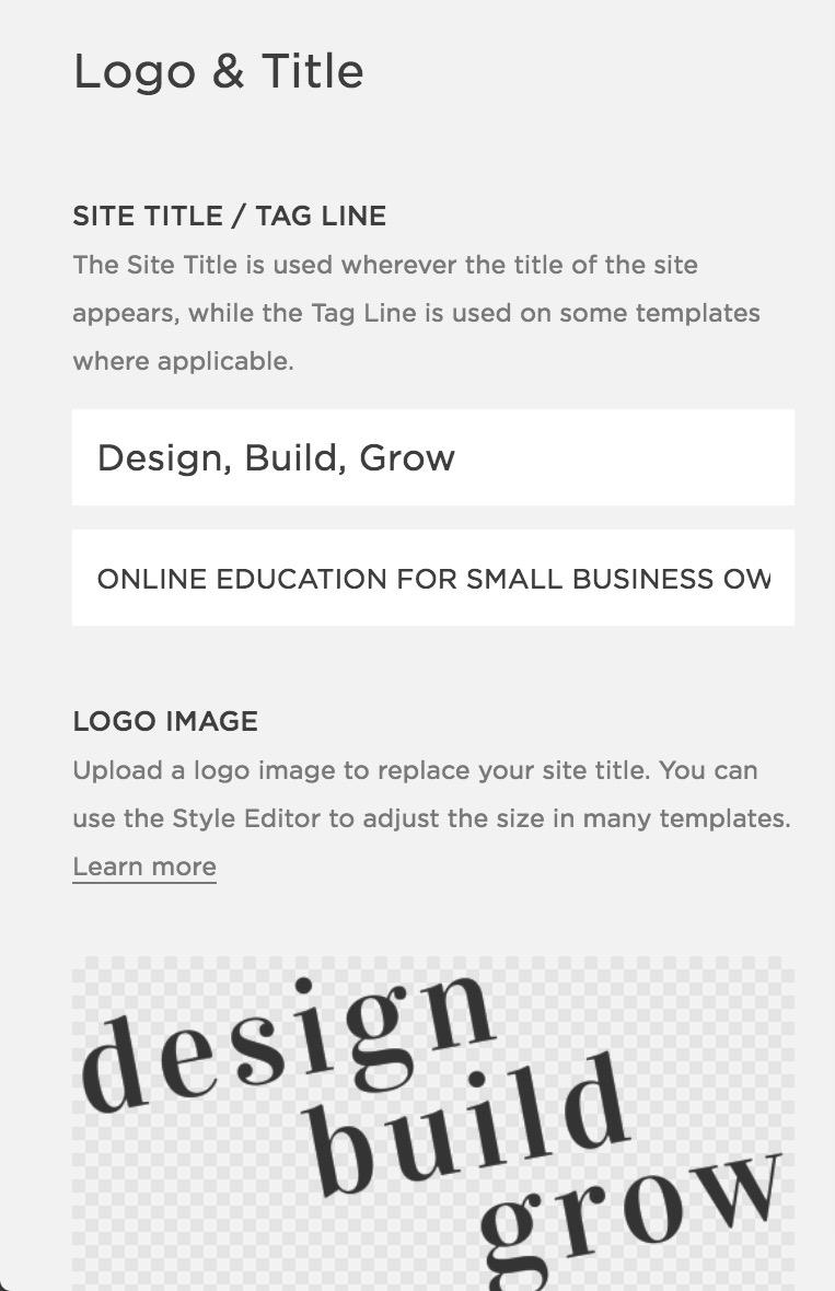 Adding a site title and keywords to your website can help improve the SEO fo your Squarespace website