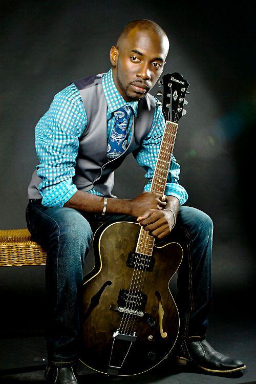 Sherwin with Guitar