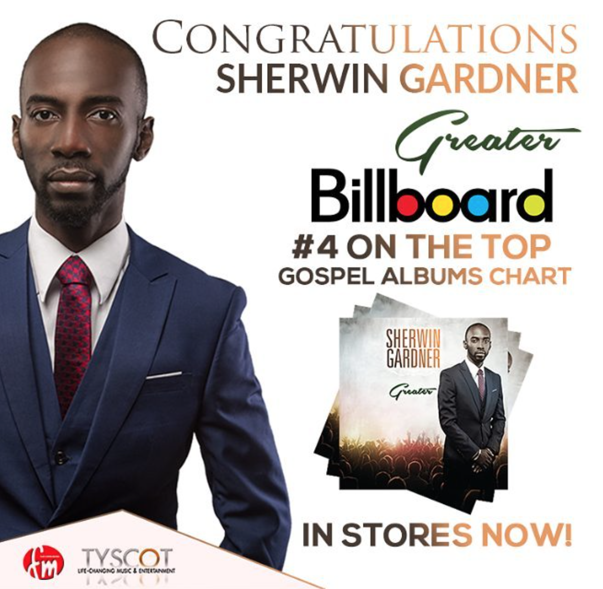 Sherwin Gardner - Greater Album #4