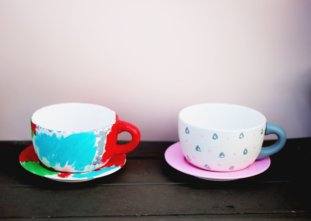 DIY Projects — TEACUP SUCCULENT PLANTERS — All Kids Are Gifted