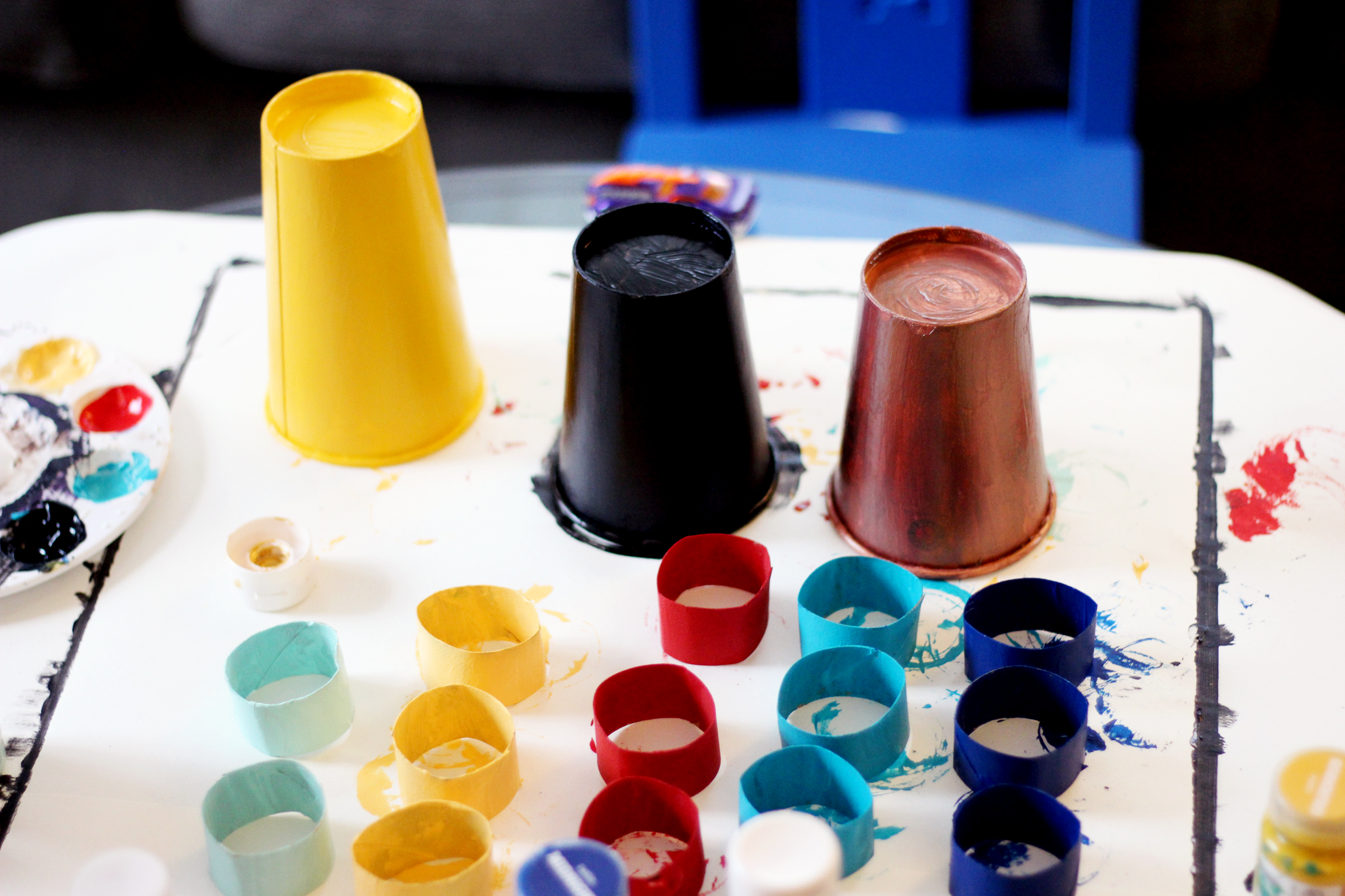 DIY Projects — CAR RACE WINNERS STAGE — All Kids Are Gifted