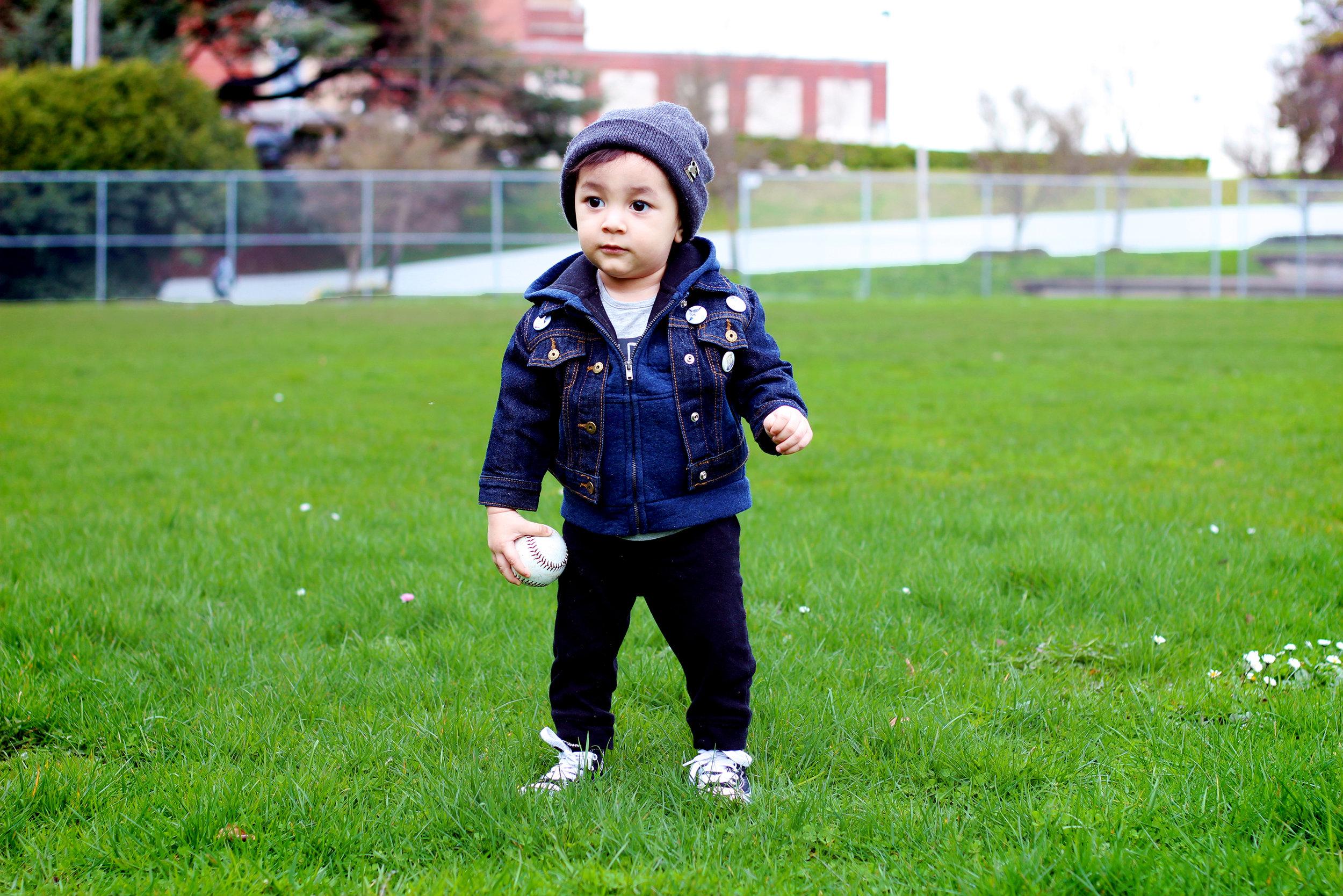 KID STYLE: MINI DENIM JACKET + MINI PINS — All Kids Are Gifted