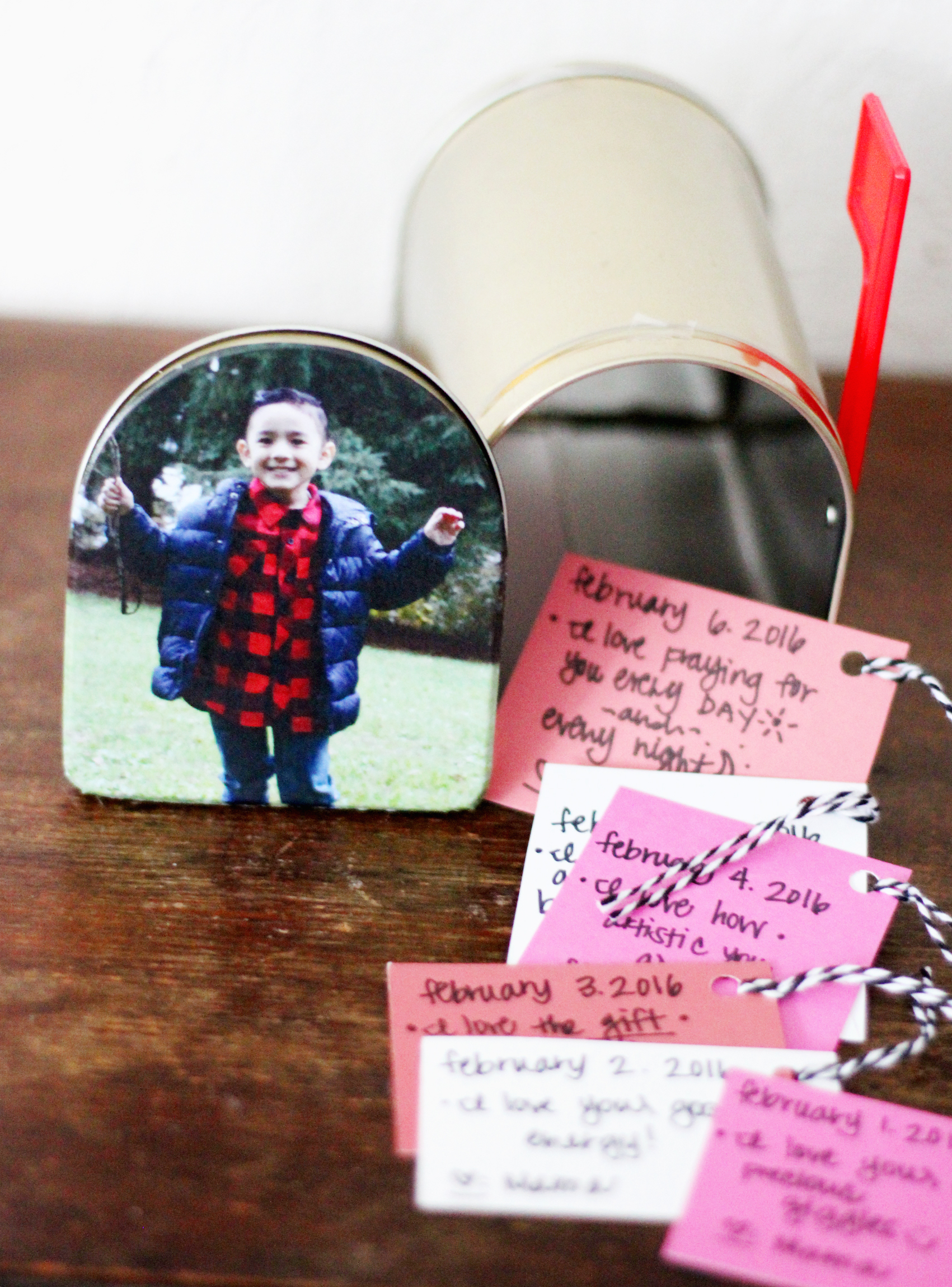 Kids DIY Projects - VALENTINES DAY PORTRAIT MAILBOXES - All Kids Are Gifted