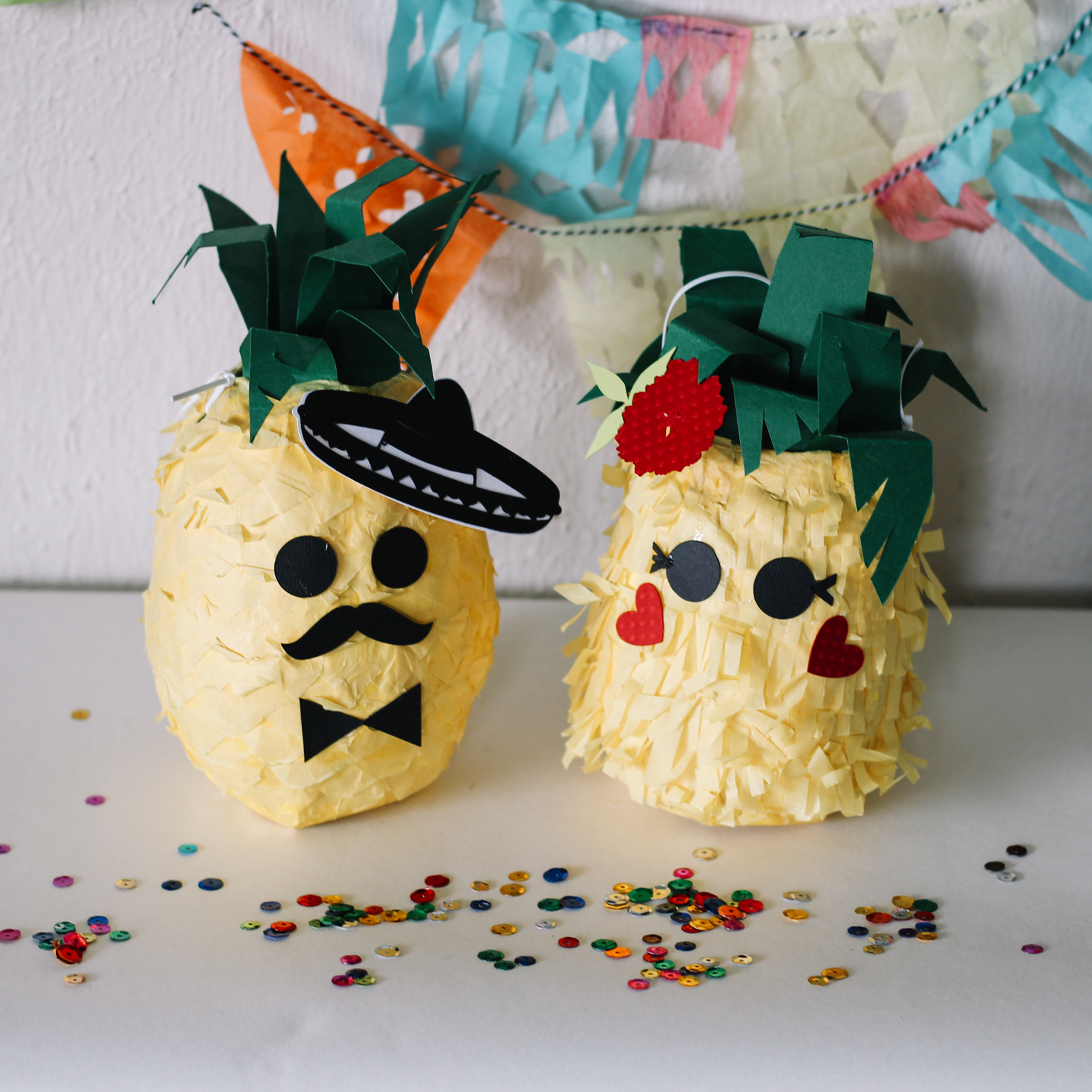 DIY Projects — MINI PINEAPPLE PINATAS — All Kids Are Gifted