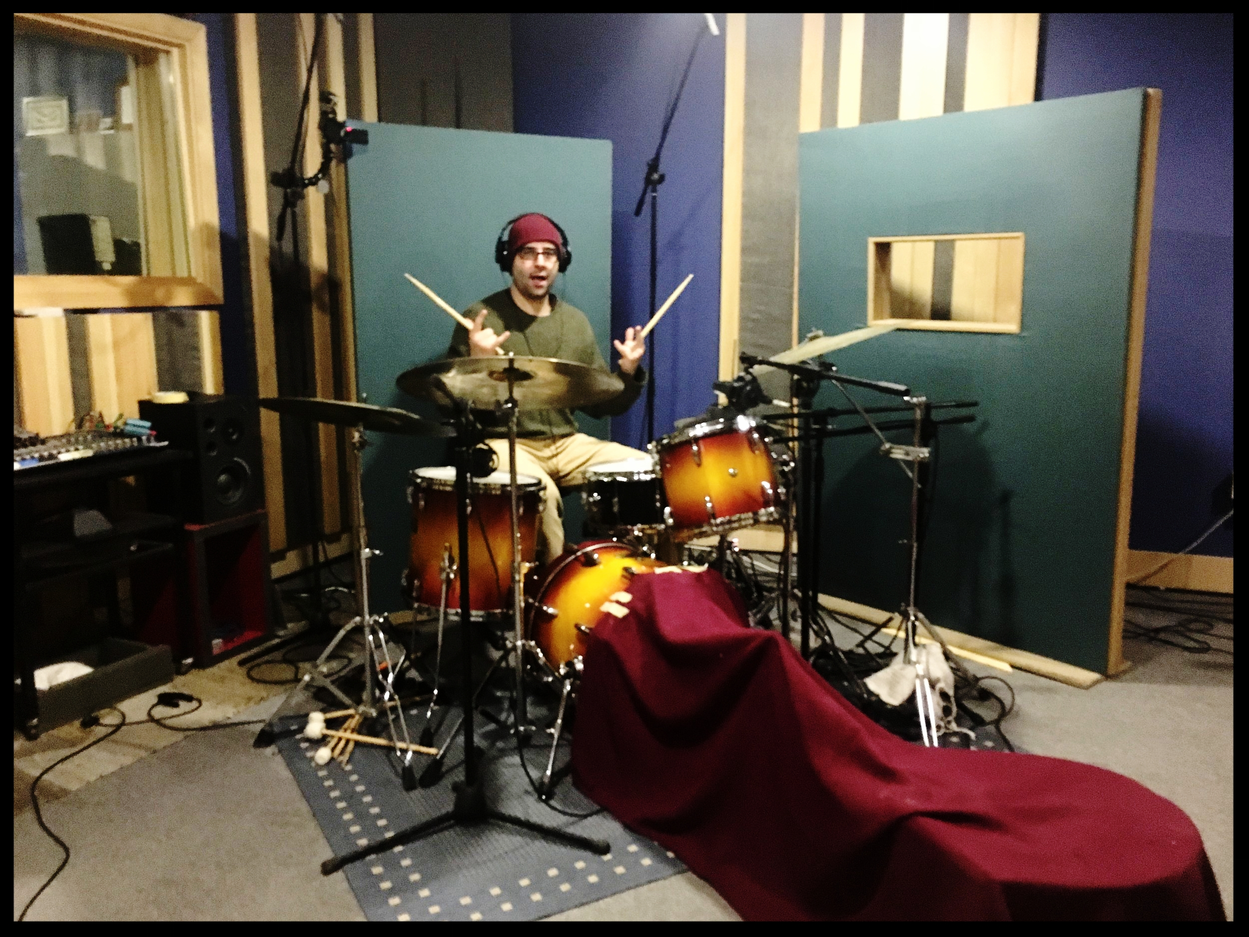 Paolo on Drums