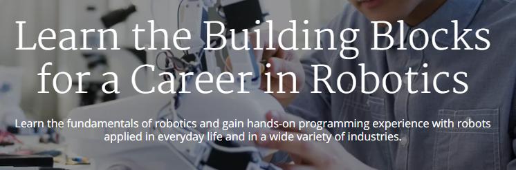 Robotics Specialization from University of Pennsylvania