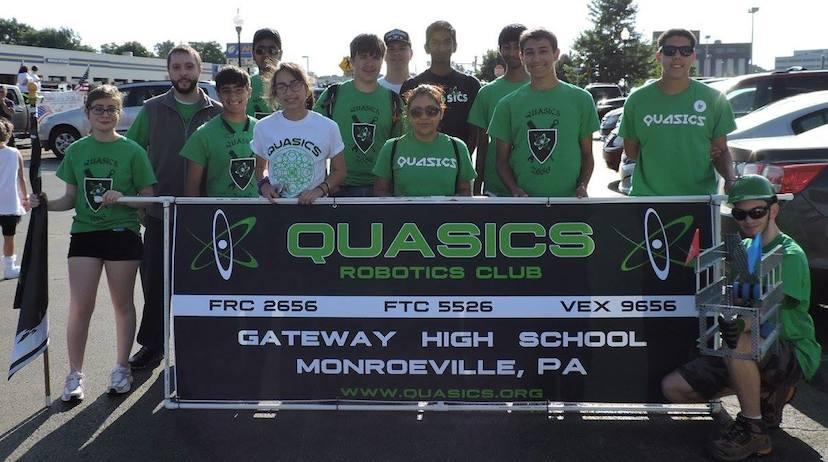 Team 2656 Quasics