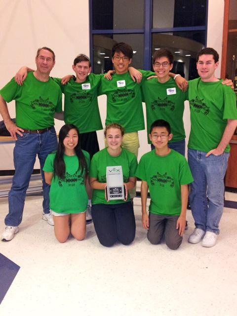 Team 3129A Green MacHHHHine