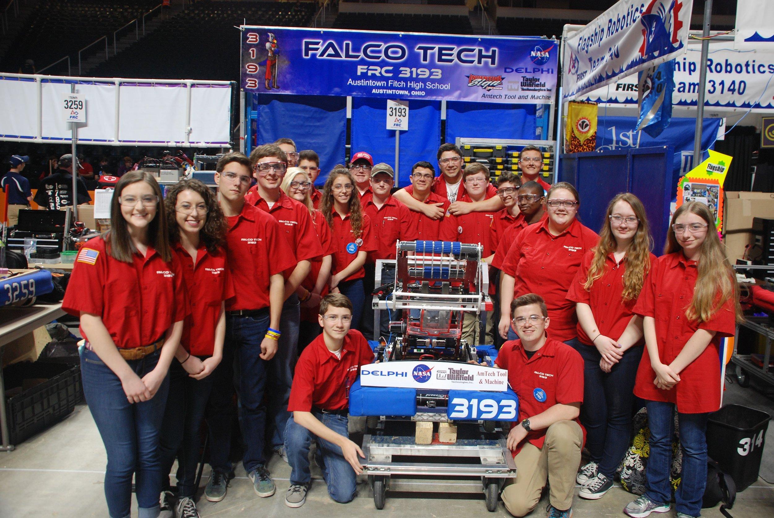 Team 3193 Falcon Tech
