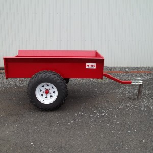 RS 3060 Trailer  raised atv trailer 30 inches by 60 inches.