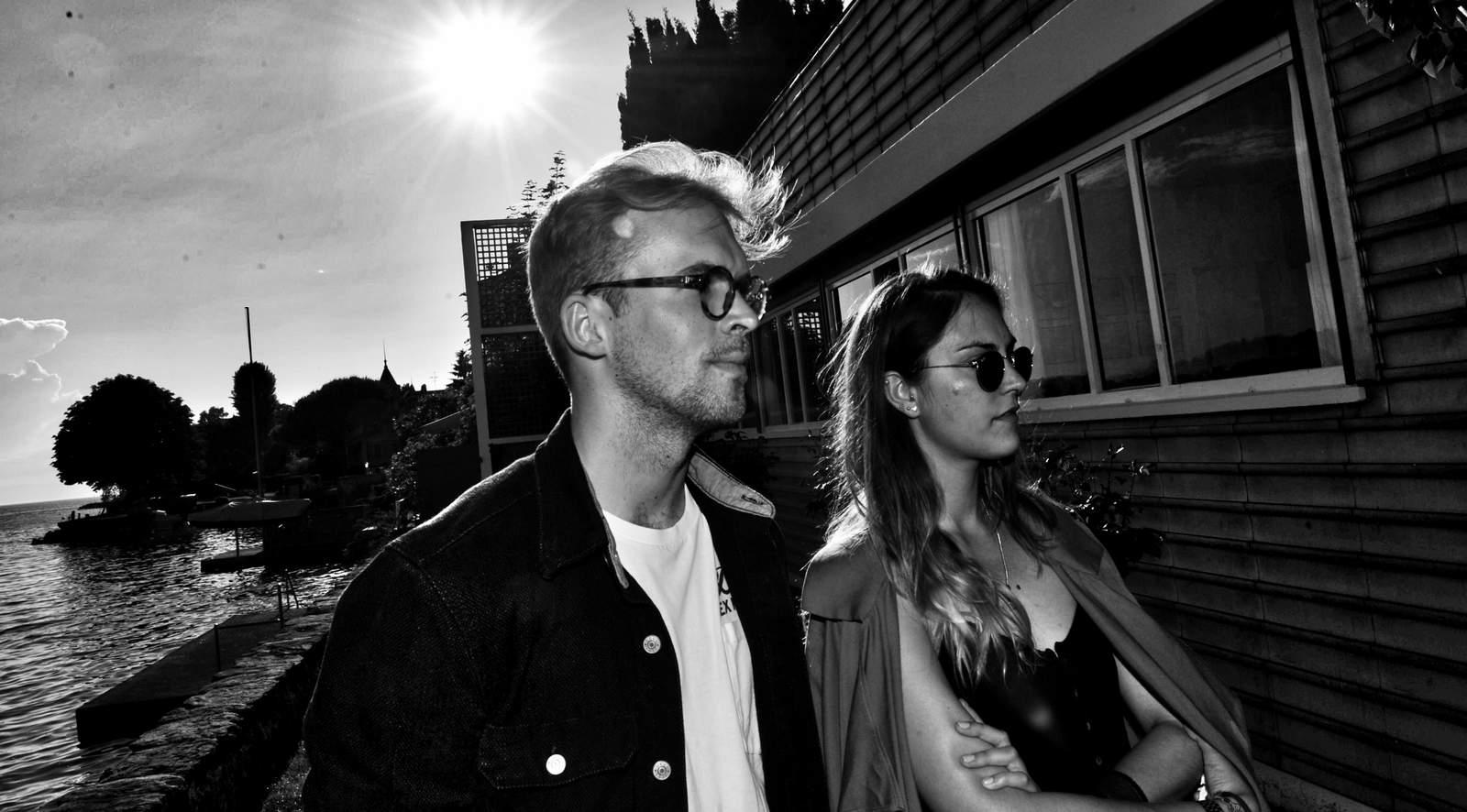 Young couple & the Villa