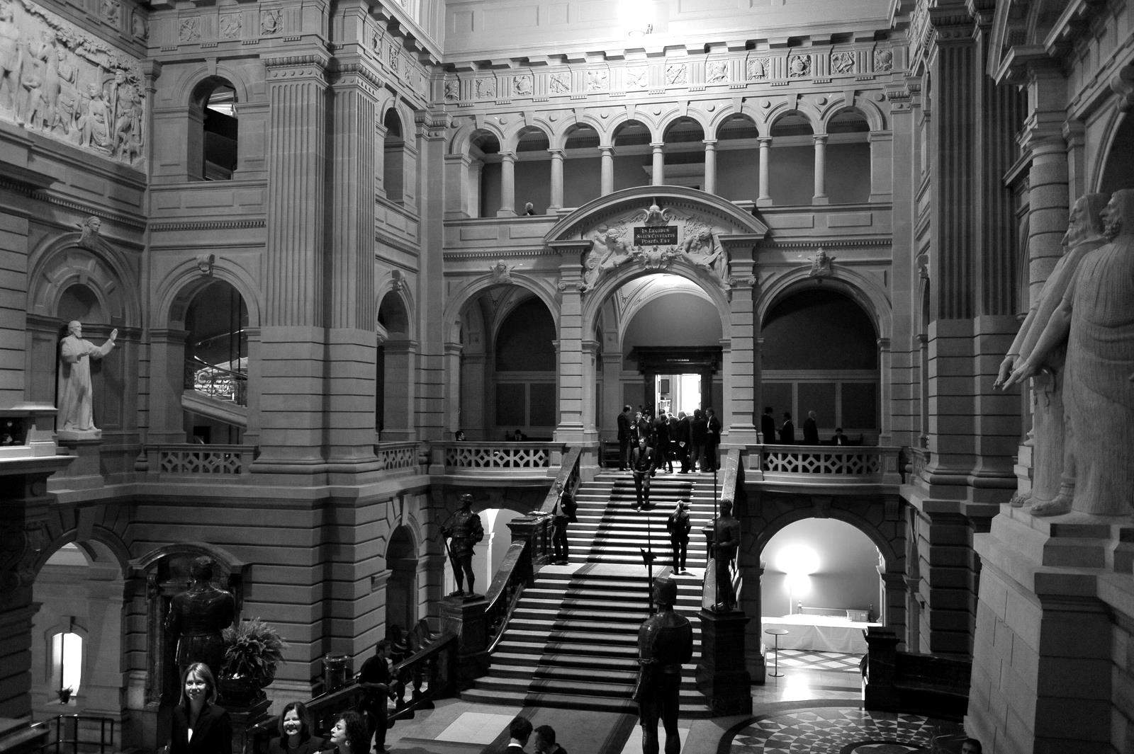 Inside the Federal Palace