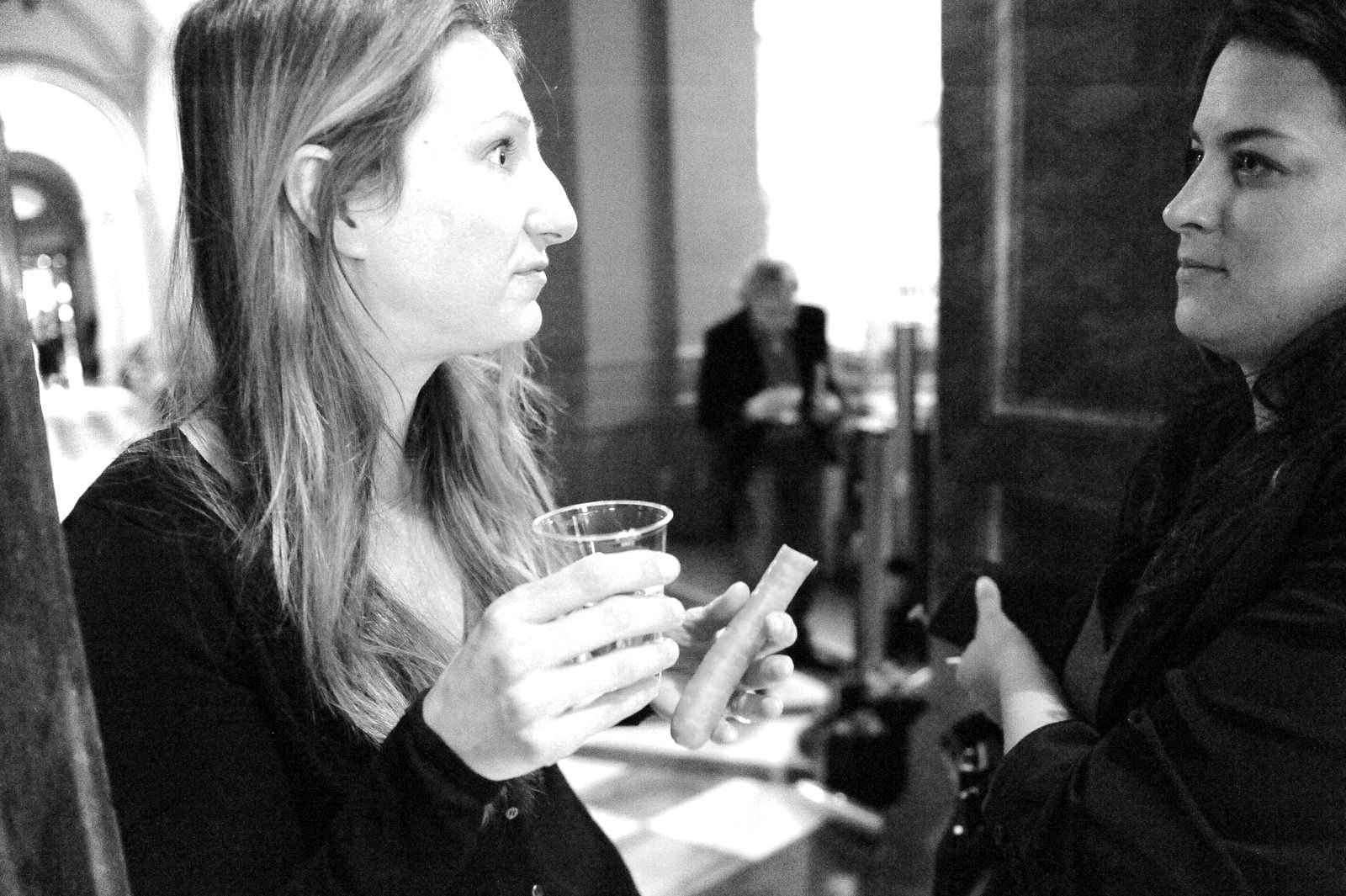 Adèle Thorens and Romaine Morard