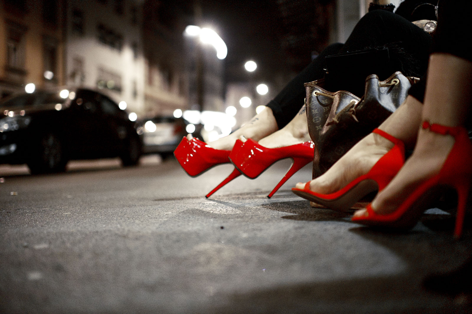 Hot shoes resting
