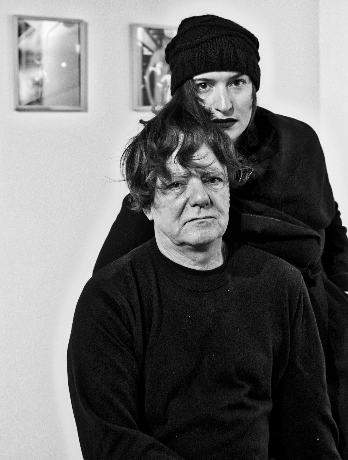 Antonio Manuel with Francesca Carol Rolla