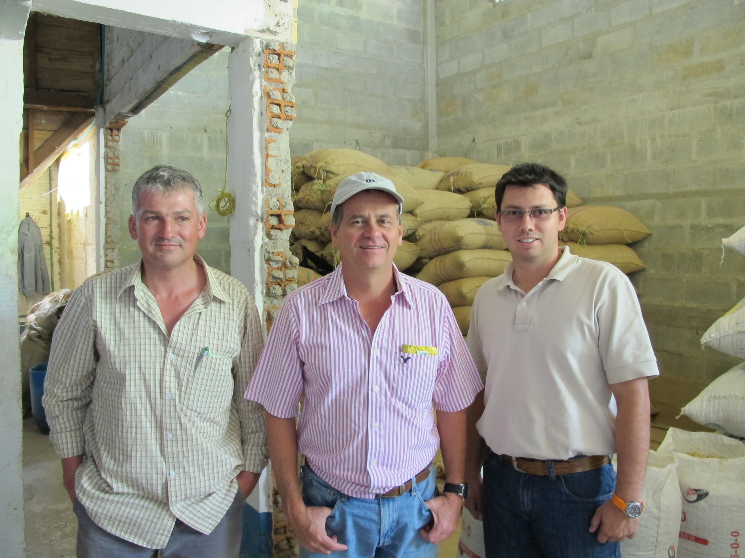 Santa Barbara -Julio Maya, Gabriel Velez, Leonardo Henao, Directores of Agronomy and Quality.JPG
