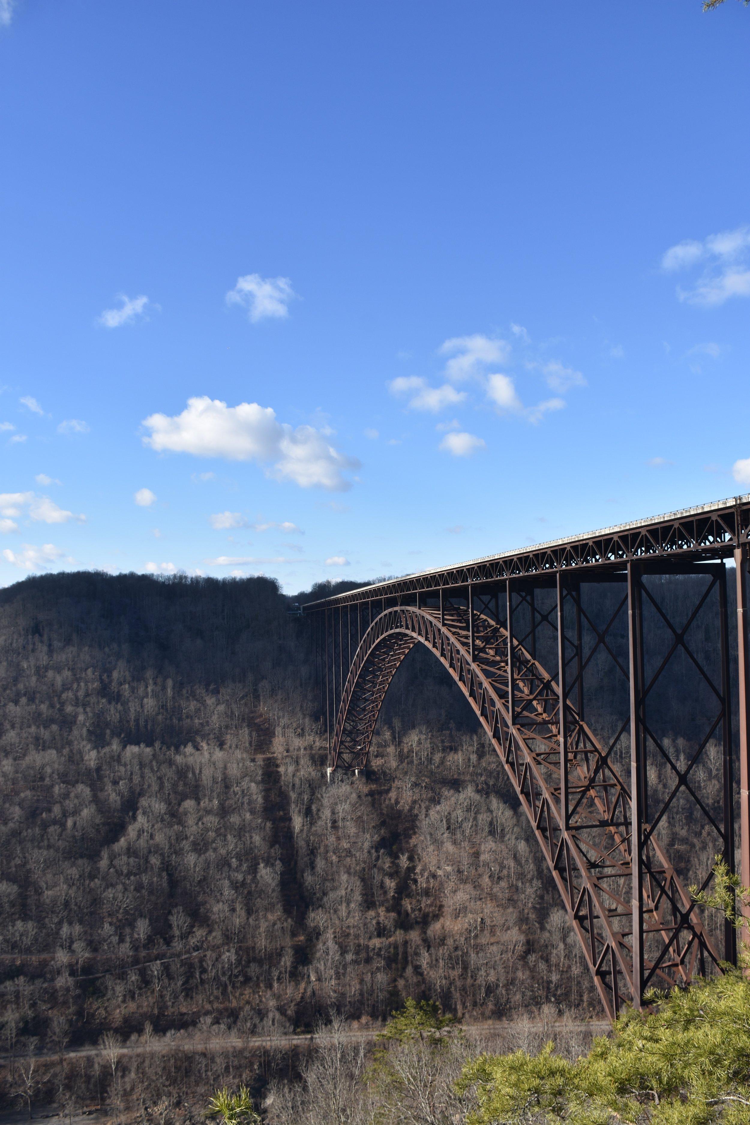 New River Gorge Bridge, December 2015.