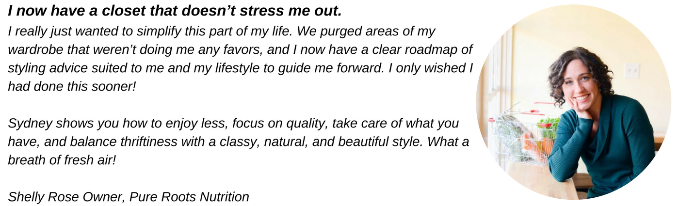chic stripes virtual style program testimonial