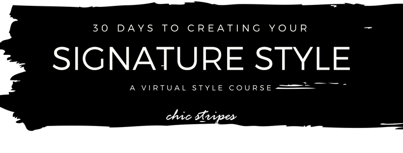 30 days to signature style