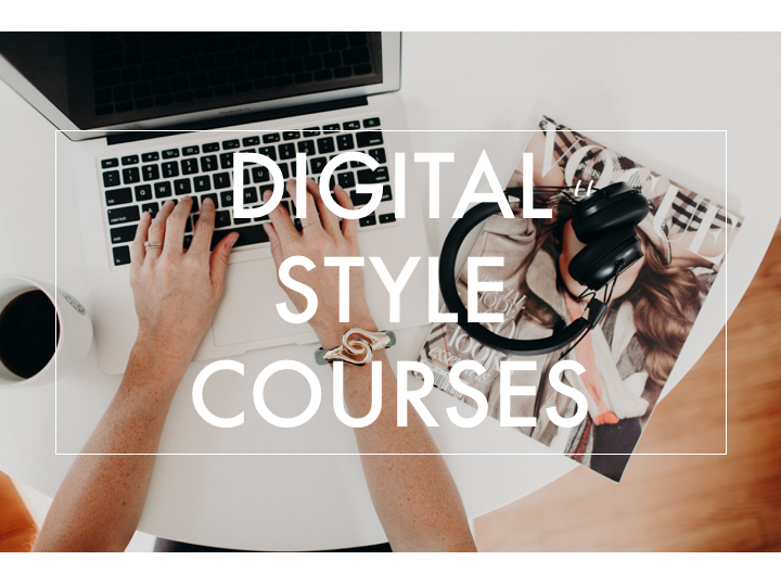 chic stripes digital virtual style courses